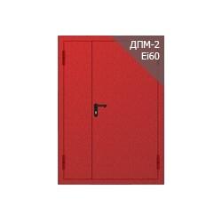01 Противопожарная металлическая глухая дверь ДПМ EI60