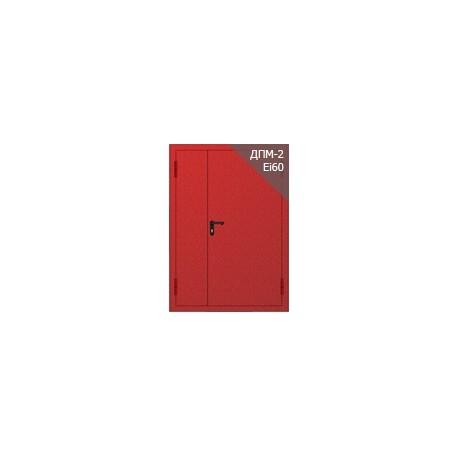 Противопожарная металлическая глухая дверь ДПМ EI60