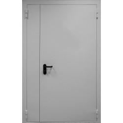 Дверь ДПМ EI 60 двухполотная противопожарная